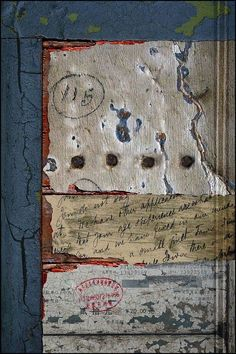 Ian Foster, Untitled, mixed media, collage - Picmia