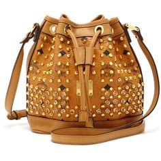 MCM Diamond Visetos Drawstrings Mini Bag ($1,320) ❤ liked on Polyvore featuring bags, handbags, shoulder bags, purses, bolsas, red, mcm backpack, purse backpack, red backpack and handbag backpack