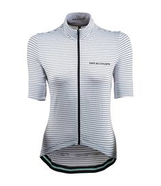 Buy your Cafe Du Cycliste Francine Cycling Jersey from Victor & Liberty. Browse our carefully curated cycling jerseys Women's Cycling Jersey, Cycling Jerseys, Womens Cycling Kit, Bike Wear, Cycling Accessories, Cycling Outfit, Unique Outfits, Stripes Design, Clothes For Women