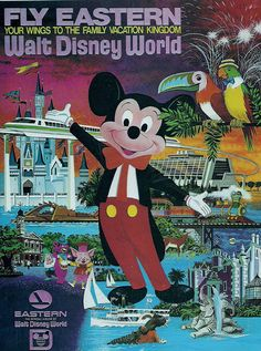 Opening on June 5, 1972, Eastern Air Lines, which was the official airline of Walt Disney World, sponsored the attraction.