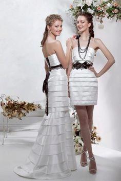 Свадебное платье- трансформер от Папилио