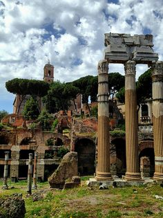 Ruins of the Roman Forum, Rome...https://www.facebook.com/groups/TheUnifiedWealthTeam/