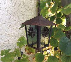 Buitenlamp lantaarn model vintage, ijzer, patina, Frankrijk Bird Feeders, Outdoor Decor, Model, Vintage, Home Decor, Decoration Home, Room Decor, Scale Model