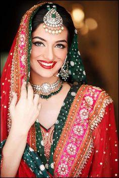 Pretty Pakistani lady ,bridal-makeup-by-sabs-salon- (2