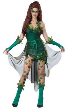 California Costumes Women's Eye Candy - Lethal Beauty Adult, Green, Medium
