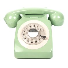 GPO 746 Traditional Rotary Dialing Telephone | Green by Retro & Nostalgic Telephones on Brands Exclusive