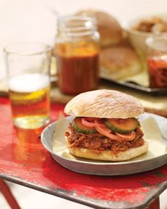 Pulled-Pork Sandwiches Recipe