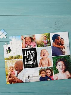 Shutterfly's photo puzzles let your loved ones enjoy a memory one piece at a time. Create a custom puzzle and make a fun, personalized gift for Dad this Father's Day.