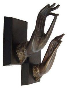 Buddha Hand Door knobs Door Handle