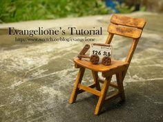 Evangelione: Wooden chair tutorial | 木 椅 子 教 程