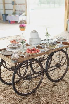 dessert wagon