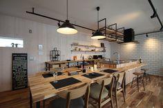 House Design, New Homes, Kitchen Office, Interior Design, Home, Interior, Kitchen Design, Kitchen Renovation, Living Room Inspo