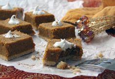 Pumpkin Pie Squares - Paleo AIP-friendly #paleo #AIP #autoimmuneprotocol