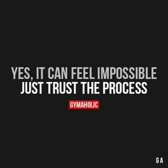 Yes, It Can Feel Impossible
