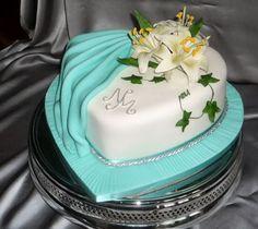 Turquoise Wedding Cakes | wedding cakes by franziska: Turquoise wedding cake