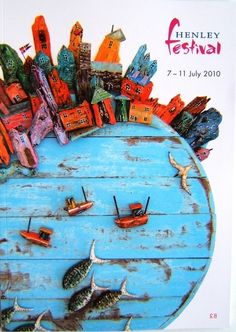 Tony Britnell - Henley Festival programme cover