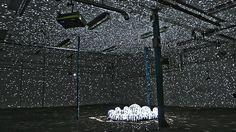 "Light Leaks, a ""structured light"" installation involving projections on disco balls by Kyle McDonald and Jonas Jongejan. Interactive Installation, Light Installation, Art Installations, Interactive Art, Creators Project, Mirror Ball, Computer Vision, New Media Art, Disco Lights"