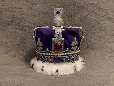 Queen Elizabeth II Replica State Imperial crown   Aurora 3D Printing C   InStock Diamond Tiara, Rose Cut Diamond, Aurora, Imperial State Crown, Male Crown, Miranda Kerr Style, 3d Printed Objects, Wedding Tiaras, Kings Crown