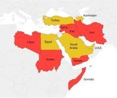 27/01/2017 - Pourquoi ces pays musulmans et pas d'autres, comme l'Arabie saoudite, l'Égypte et la Turquie?