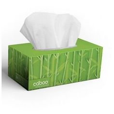 Caboo Bamboo and Sugarcane 2 PLY Facial Tissue (24x1 CT)