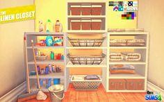 The Linen Closet by Kiara Rawks at Onyx Sims • Sims 4 Updates
