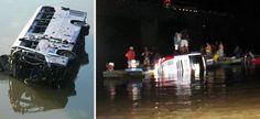 Polícia confirma 7 mortos e 28 feridos em queda de ônibus em Itapebi