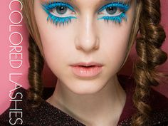 Spring 2013 Beauty Breakdown: The Top Trends of the Season Bright Eye Makeup, Subtle Makeup, Edgy Makeup, Basic Makeup, Beauty Makeup, Beauty Art, Catwalk Makeup, Runway Makeup, Moncler