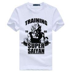 Dragon Ball Z Training to Go Super Saiyan Shirt