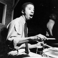 Tribute page to legendary jazz drummer and band leader, Tony Williams Tony Williams Drummer, Jazz Quotes, Francis Wolff, Jazz Cat, Gretsch Drums, Cool Jazz, Drum Lessons, How To Play Drums, Jazz Blues