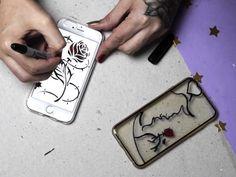 Como fazer uma capa de celular inspirada em 'A Bela e a Fera'