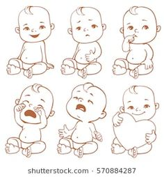 Baby cartoon drawing boys Ideas for 2019 Baby Face Drawing, Cry Drawing, Baby Cartoon Drawing, Cartoon Drawings, Drawing Faces, Cartoon Cartoon, Cartoon Faces, Crying Girl, Drawing Expressions
