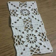 Crochet Round Cream White Doily Centerpiece Crochet Home De Motifs Granny Square, Granny Square Crochet Pattern, Crochet Blocks, Crochet Round, Crochet Squares, Crochet Home, Love Crochet, Crochet Motif, Vintage Crochet
