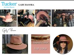 The amazing Gaby Basora of Tucker by Gaby Basora designed a limited edition collection hat for our Kickstarter campaign. In love with that feather band