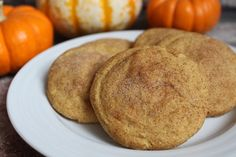 In the Pink and Green: Pumpkin Snickerdoodles