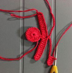 Ponto Preso1: Croche - UMA ROSA VERMELHA COM AMOR ...