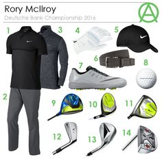 Rory McIlroy Deutsche Bank Championship 2016 Outfit