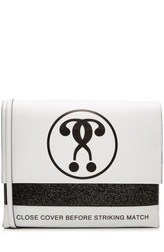 MOSCHINO Printed Leather Shoulder Bag. #moschino #bags #shoulder bags #leather #lining