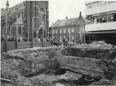 Breda - Opgraving Karnemelkstraat / Eindpoort - 1963
