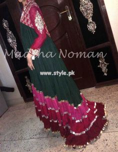 Madiha Noman Party Wear Dresses 2013 For Spring 001