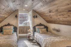 New ideas adding attic stairs bonus rooms Attic Bedroom Small, Attic Bedroom Designs, Attic Loft, Loft Room, Upstairs Bedroom, Attic Spaces, Bedroom Loft, Bedroom Decor, Attic Bathroom