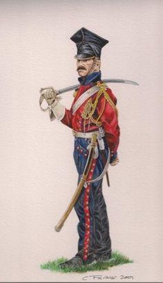 2nd regt. dutch lancers of Napoleon's imperial guard - Google zoeken: