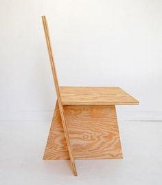 Matt Olson, Mike Brady, and Joe Mollen; Plywood '+Chair Ply' Chair for ROLU Studio, 2010.