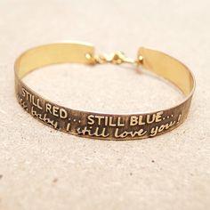 personalized bracelet. buy on etsy