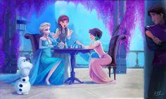 reine - [Fan arts] La Reine des Neiges - Page 49