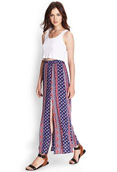 This forever 21 skirt is now $18.01, and gives the same folksy vibe.. For a lot less!