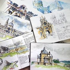 Big news- I am writing a book! More on my blog ... But I can confirm that it's about sketching architecture. So super excited!!!!
