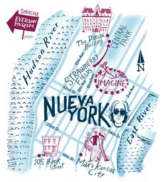 Nik Neves, New York map