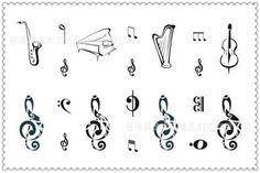 royal Fonts for Tattoos | ... font-b-Tattoo-b-font-Stickers-Temporary-font-b-popular-b-font-font-b