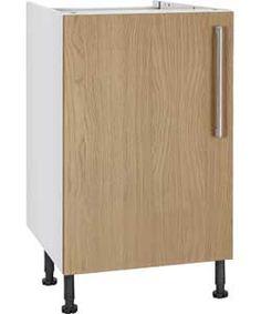 Buy Hygena Valencia 600mm Kitchen Base Unit - Oak at Argos.co.uk, visit Argos.co.uk to shop online for Kitchen base units