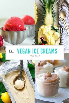 25 Dairy-free and Vegan Ice Creams for All!